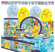 Verjaardagspakket Pokemon