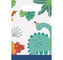 8 uitdeelzakjes Dino Mite