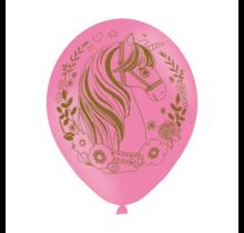 6 latex ballonnen Magical Unicorn
