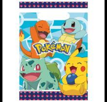 8 uitdeelzakjes Pokemon