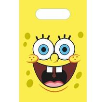 8 papieren SpongeBob uitdeelzakjes