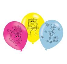 6 SpongeBob Ballonnen