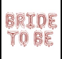 Folie ballon BRIDE TO BE