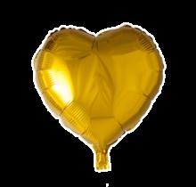 Folie ballon hart goud, 46cm
