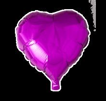 Folie ballon hart roze, 46cm