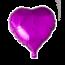 Feest-vieren Folie ballon hart roze, 46cm