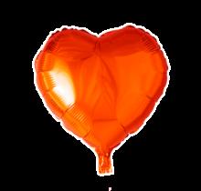 Folie ballon hart oranje , 46cm