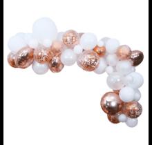 Ballon decoratie kit Rosé Goud
