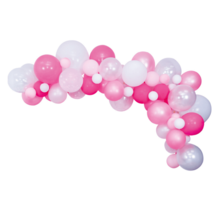 Ballon decoratie kit Roze