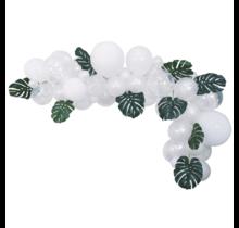 Ballon decoratie kit wit