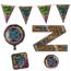 Paperdreams 18 jaar verjaardag versiering pakket NEON