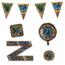 Paperdreams 21 jaar verjaardag versiering pakket NEON