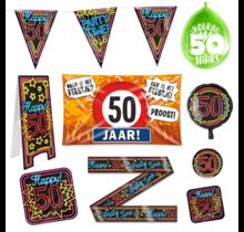 50 jaar verjaardag versiering pakket XL