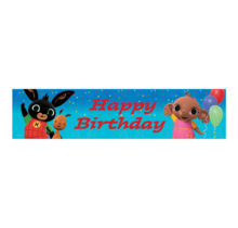 Bing Happy Birthday Banner 270x20cm