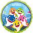 Baby Shark Baby Shark Folie Ballon