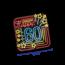 Paperdreams Deurbord - 60 jaar - Neon