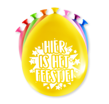 Feest Ballonnen - Hier is 't feest
