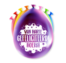 Feest Ballonnen - Gefeliciteerd