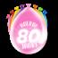 Paperdreams Feest Ballonnen - 80 jaar