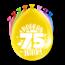 Paperdreams Feest Ballonnen - 75 jaar