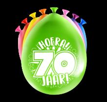 Feest Ballonnen - 70 jaar