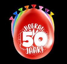 Feest Ballonnen - 50 jaar