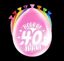 Feest Ballonnen - 40 jaar
