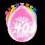 Paperdreams Feest Ballonnen - 40 jaar