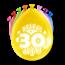 Paperdreams Feest Ballonnen - 30 jaar