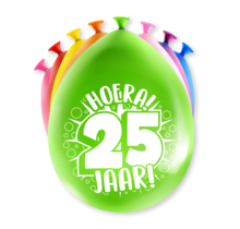 Feest Ballonnen - 25 jaar