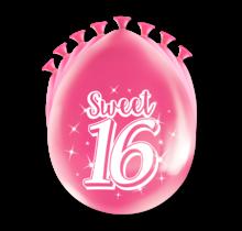 Feest Ballonnen - Sweet 16