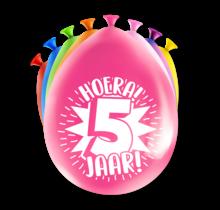 Feest Ballonnen - 5 jaar