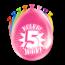 Paperdreams Feest Ballonnen - 5 jaar