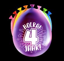 Feest Ballonnen - 4 jaar