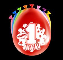 Feest Ballonnen - 1 jaar