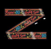 Afzetlint - 60 jaar - Neon