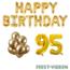 Feest-vieren 95 jaar Verjaardag Versiering Ballon Pakket Goud