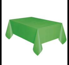 Tafelkleed lime groen plastic 137 x 274 cm