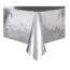 Unique Tafelkleed metallic zilver folie 274 x 137cm