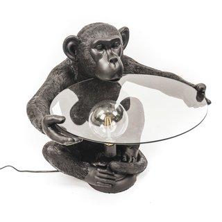 Apentafel met Lamp