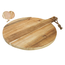 Gusta Acacia Serveerplank Rond 39x52x2cm