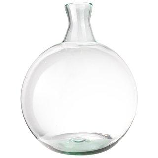 Vaas bol gerecycled glas Ø32 cm