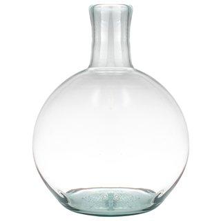 Vaas bol gerecycled glas Ø22 cm