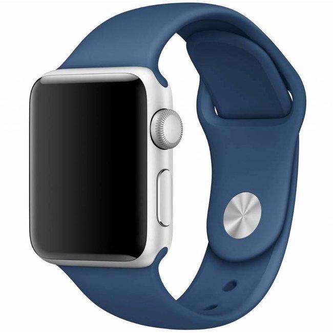 Marque 123watches Apple Watch sport sangle - bleu océan
