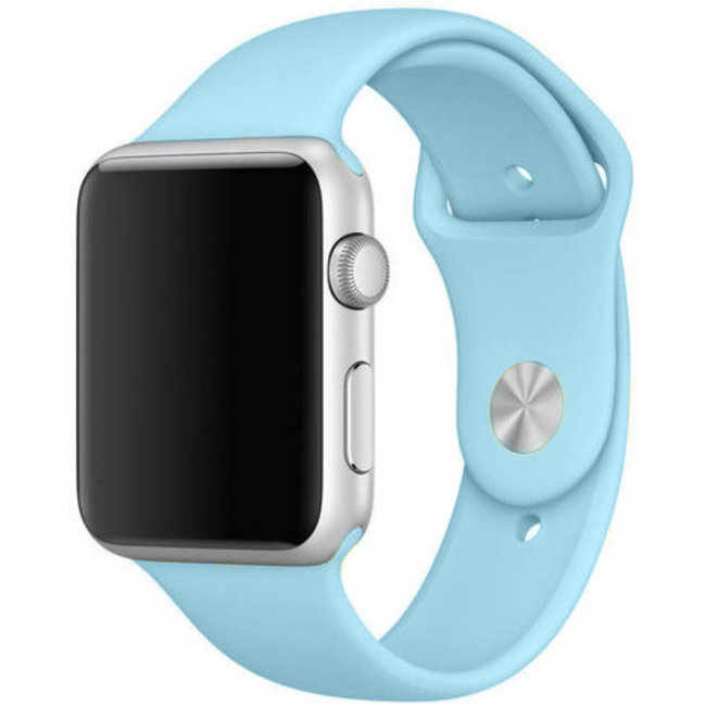 Marque 123watches Apple Watch sport sangle - turquoise