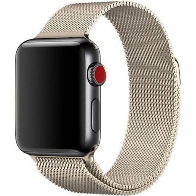 Marque 123watches Apple watch milanese band - champagne