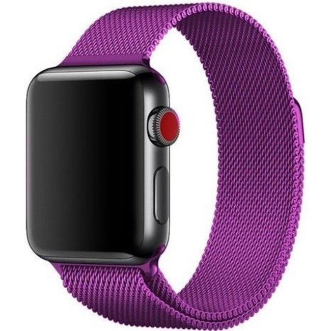 Marque 123watches Apple watch milanese band - violet