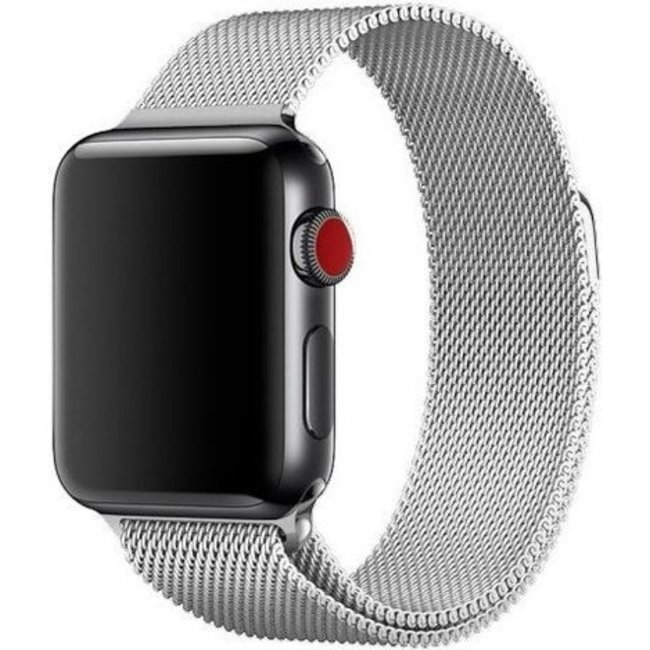 Marque 123watches Apple watch milanese band - argent
