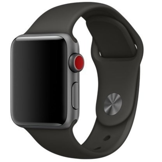 Marque 123watches Apple Watch sport sangle - gris