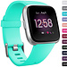 Marque 123watches Fitbit versa sport sangle - lac bleu